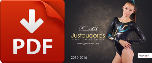 Catalogue Justaucorps GYMWAY 2015-2016