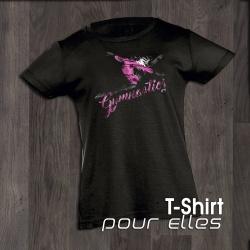T-Shirt SPLIT DARK gymnastics GYMWAY