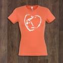 T-Shirt GYM HEART