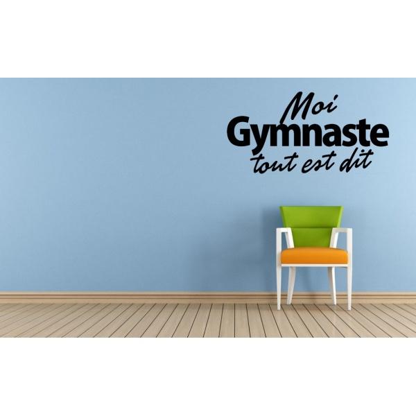 Sticker - Moi Gymnaste