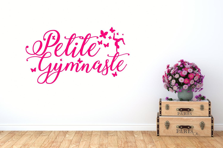 Sticker petite gymnaste
