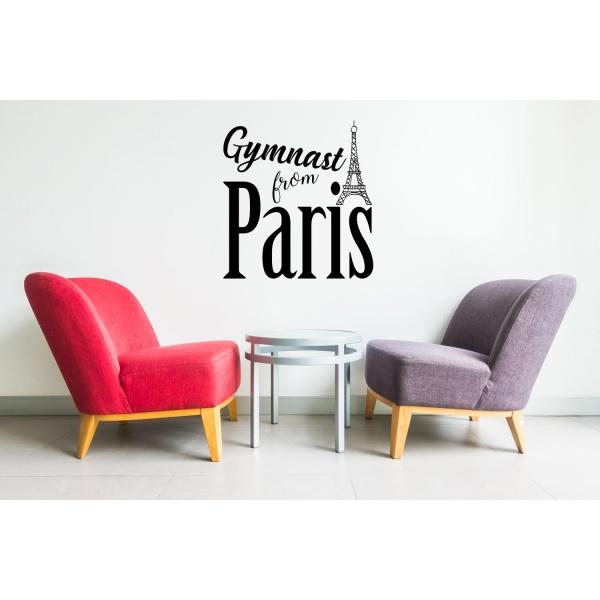 Sticker - Gymnast from Paris