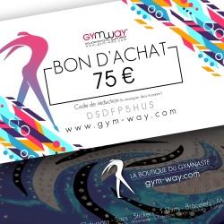 GYMWAY Bon d'Achat 75€