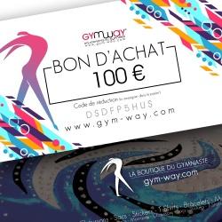 GYMWAY Bon d'Achat 100€