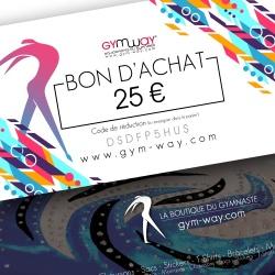 GYMWAY Bon d'Achat 25€