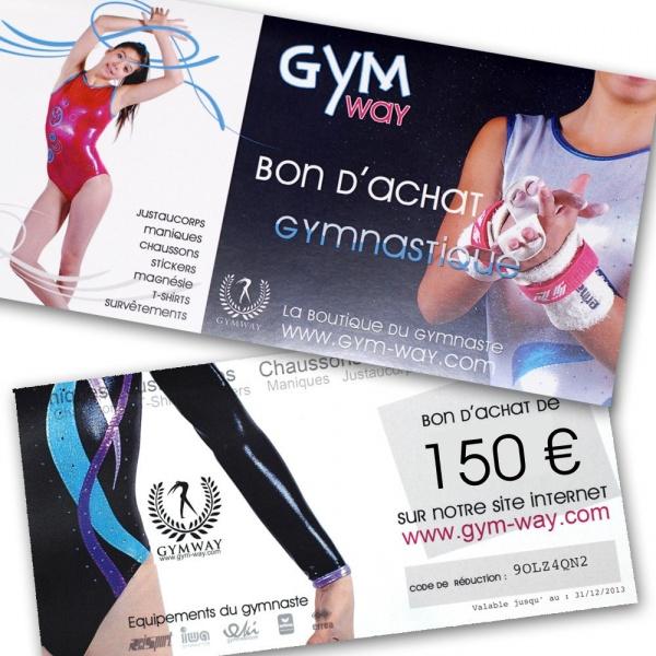 GYMWAY Bon d'Achat 150€