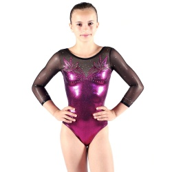 Leotard EKI long sleeves - 86S_A - Size : XS