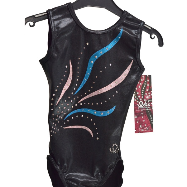 GYMWAY Justaucorps EKI 47S_A - Taille : 8-10 ans