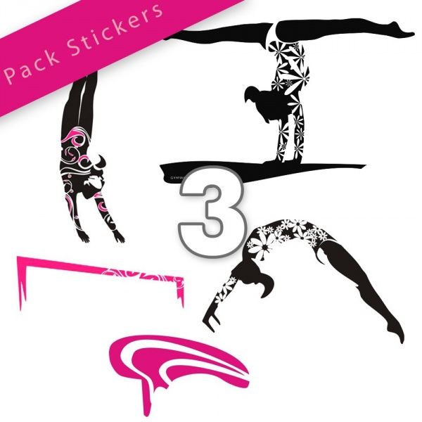 GYMWAY Sticker Pack Lady