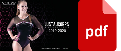 Catalogue Justaucorps GYMWAY 2019-2020